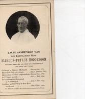 Hoogboom Siardus Kanunnik Abdij Van 't PARK °Eemnes Holland Aalmoezenier Noorderwijk Herentals  +5/12/1909 Noorderwijk - Décès