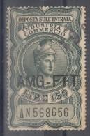 Italy Trieste Zone A AMG-FTT Revenue Tax Stamp - Paketmarken/Konzessionen