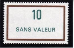 FRANCE FICTIF N° F236 ** Timbre Neuf Gomme D´origine Sans Trace De Charnière - TB - Ficticios