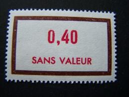 FICTIFS NEUF ** N°F196 SANS CHARNIERE (FICTIF F 196) - Phantomausgaben