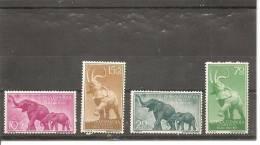 Guinea Española - Edifil 369-72 - Yvert 384-87 (MNH/**) - Spaans-Guinea