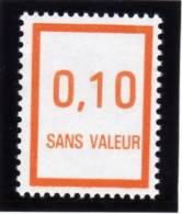 FRANCE FICTIF N° F232 ** Timbre Neuf Gomme D´origine Sans Trace De Charnière - TB - Fictifs