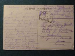 Cachet CHERBOURG NAVAL 09/09/1939, Sur Carte Postale De Cherbourg (la Place Napoléon Vue De La Mer) - Posta Marittima