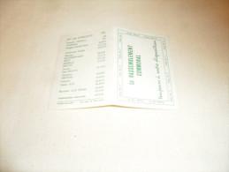 ANCIEN CALENDRIER  1977 /  PUB ELECTIONS / VOTEZ 11 RASSEMBLEMENT COMMUNAL - Calendriers