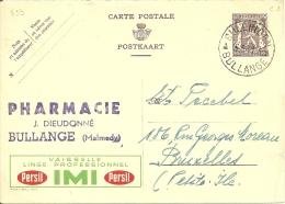België Belgique Publibel 823 Persil IMI / Bullingen 1949 - Stamped Stationery