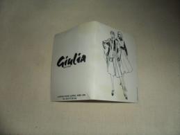 ANCIEN CALENDRIER  1976 /  PUB  GIULIA BOUTIQUE SPA - Calendriers