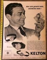PUB PUBLICITE 50/60 MONTRE KELTON KELLER - Stamps