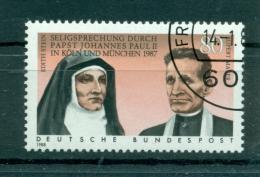 Allemagne -Germany 1988 - Michel N. 1352 - Edith Stein Et Rupert Mayer - [7] République Fédérale