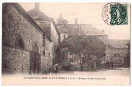 Saint-Sulpice De Favières - Ferme De Guillerville - édit. P. Royer 18 + Verso - Saint Sulpice De Favieres