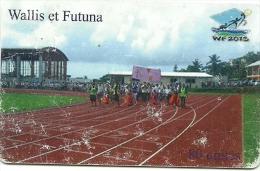 Stade     Tirage 4000ex    (claswalli) - Wallis Und Futuna