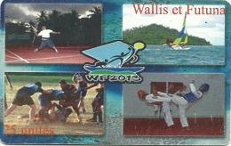 Sports     Tirage 4000ex    (claswalli) - Wallis Und Futuna