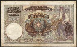 100 Dinara 01/05/1941. Serbia/ Serbie. - Serbie