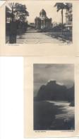 RIO DE JANEIRO BRASIL LOTE DE 8 FOTOS CIRCA 1925 RARES ANTIQUES ANTIGUAS BRASIL ANTIGUO BRESIL BRAZIL - Places