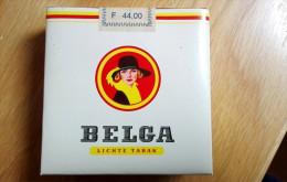 BELGA Old Full Cigarette Pack Sigarette Zigaretten - Schnupftabakdosen (leer)