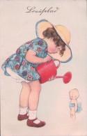Humour, Enfant Arrosant La Poupée (1375) - Humour