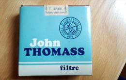 JOHN THOMASS FILTER Old Full Cigarette Pack Sigarette Zigaretten - Schnupftabakdosen (leer)