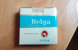 BELGA EXTRA LEICHT Old Full Cigarette Pack Sigarette Zigaretten - Schnupftabakdosen (leer)
