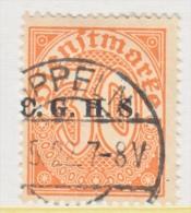 UPPER  SILESIA  O 43      (o) - Silesia (Lower And Upper)