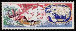 PORTUGAL 1988 - 500th Anniv  Journey / Trip BARTOLOMEU DIAZ Explorer (II)- Pair Mi 1745A-46A MNH ** Cv€2,20 B566b - Neufs