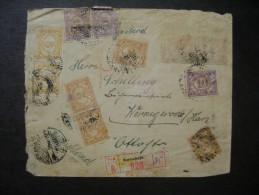 LETTER OF REGISTERED Soerabaja (INDIE) FOR GERMANY IN 1928 AS - Nederlands-Indië