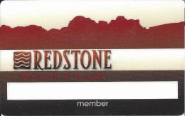 Redstone Grille Slot Club Las Vegas NV - Slot Card - Casino Cards