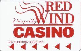 Red Wind Casino Olympia WA Slot Card - Casino Cards