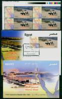 EGYPT / 2013 / 4 STAMPS + FDC + OFFICIAL BULLETIN / TOURISM / UTOPIA RESORT ; MARSA ALAM ( RED SEA ) - Nuovi