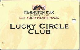 Remington Park Casino Oklahoma City OK - BLANK Slot Card - Casino Cards