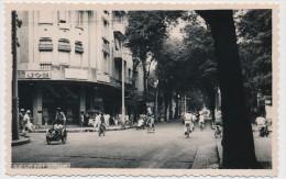 CPSM Carte Photo - INDOCHINE - SAIGON - Rue Catinat - Viêt-Nam