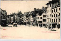 Basel-  Schwanengasse  -alte Karte (k1199 ) Siehe Bild (er)  ! - BS Bâle-Ville