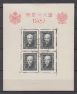 Poland Polen Block 4 Used King Of Romania 1937 - Oblitérés
