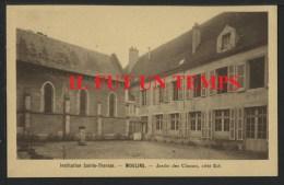 03 MOULINS - Institution Sainte Thèrèse - Jardin Des Classes, Côté Est - Moulins