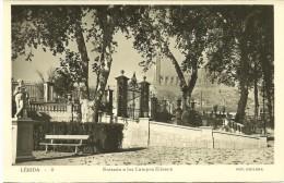Lérida - Entrada A Los Campos Eliseos - Lérida