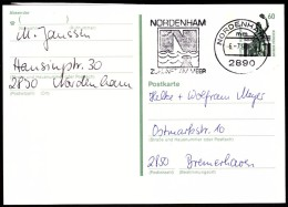 Germany Nordenham 1990 / Ships, Sailing / Nordenham Future On The See - Vacaciones & Turismo