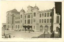 Lérida - Estación De La R.E.N.F.E. - Lérida