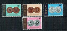 Jersey - Münzen / Coins 1977 (**/MNH) - Jersey