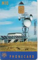 LESTOTHO  PHONECARD EARTH STATION(first Issued)-USED(2)
