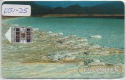 DJIBOUTI  PHONECARD SALT LAKE-USED(2) - Djibouti
