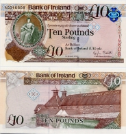 NORTHERN IRELAND - BI       10 Pounds       P-87       1.1.2013       UNC - [ 2] Irlanda Del Norte