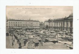 Cp , Commerce , Marché , 31 , TOULOUSE , Place Du CAPITOLE , Le Marché , Publicité : Lillet , Dulac Père , Fils - Marktplaatsen