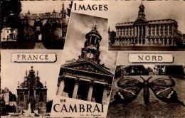 59-CAMBRAI...5 VUES....CPSM PETIT FORMAT - Cambrai