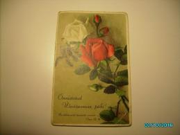 ROSES FLOWERS  , OLD POSTCARD - Holidays & Celebrations