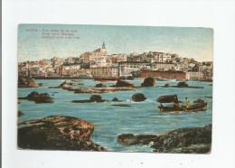 JAFFA 103 VUE PRISE DE LA MER . VIEW FROM THE SEA. ANSICHT VOM MER AUS - Israele