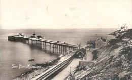 Royaume Uni, Pays De Galles The Pier Mumbles, Voyagée En 1916 - Pays De Galles