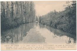 VILLANDRY - Crue Du Cher 1910 - Other Municipalities