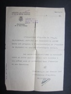 COURRIER (M1505) Ministère De L'intérieur Et De La Santé Publique (2 Vues) Inspection D'Hygiène Charleroi 1947 - Cartes De Visite