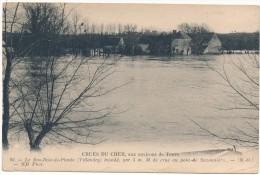 VILLANDRY - Crue Du Cher 1910, Le Bas Bois De Plante - Other Municipalities