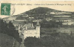 Saint Just D Avray Chateau De La Valsonniere Et Montagne De Nery - Otros Municipios