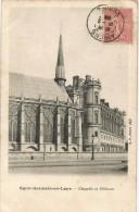 Saint Germain En Laye Chapelle Et Chateau 1906. - St. Germain En Laye