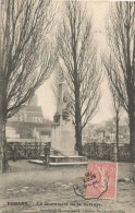 Persan Le Monument De La Defense 1905. - Persan